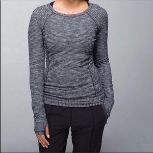 Lululemon Race Your Pace Long Sleeve Athletic Top